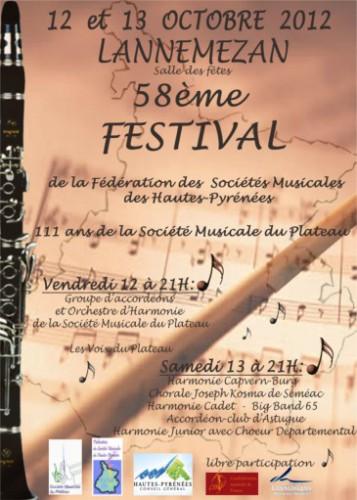 Festival 0ctobre 2012