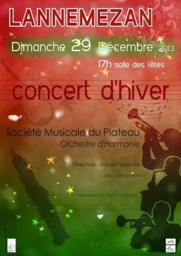 Concert Hiver 2013
