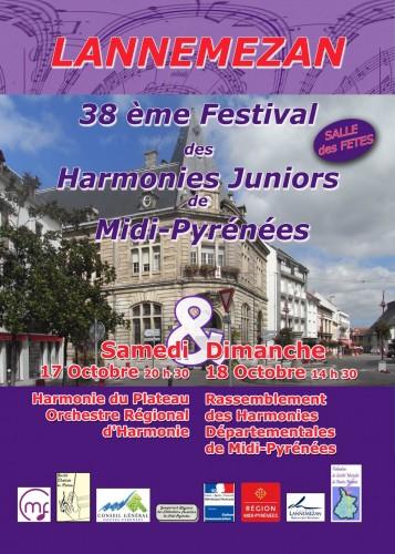 Affiche Festival Régional 2015