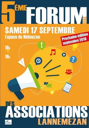 Affiche Forum assos Lzan 2016